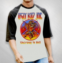 Ugly Kid Joe - Stairway To Hell Baseball Jersey