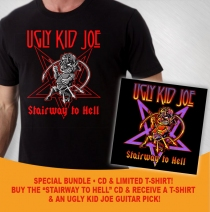Ugly Kid Joe - Stairway To Hell CD/SHIRT BUNDLE!