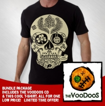 The Voodoo's - CD/T-shirt Bundle