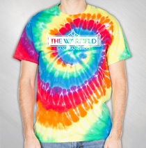 The Warfield - Logo Tie-Dye T-shirt