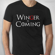 Winger   - Mens's Winger Is Coming Tee
