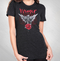 Winger - Women's Dagger Rose Scoop Tee