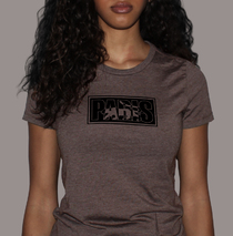 Apparel - Womens - Paris Logo - Heather Brown T-Shirt