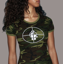 Apparel - Womens - Public Enemy - Rebirth Camouflage T-Shirt