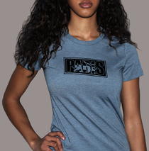 Apparel - Womens - Paris Logo - Heather Slate T-Shirt