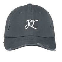 JUSTIN QUILES - Grey JQ Logo Dad Hat