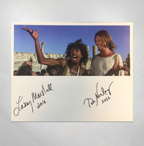Ted Neeley - Power & The Glory 8 x 10 - Signed by Ted and Larry