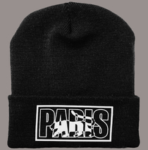 Posters & Accessories - Beanie - Paris - Cuffed Knit Logo Cap