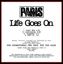 Music - Paris - Life Goes On CD Single