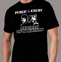 Apparel - Mens - Public Enemy - Rebirth of a Nation T-Shirt 2