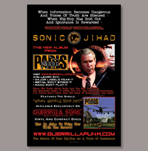 Posters & Accessories - Poster - Paris - Sonic Jihad #2