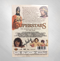 Ted Neeley - Superstars DVD Signed by 4 Cast Members